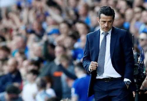 Soccer: Silva wants Everton to push on after victory over Man United