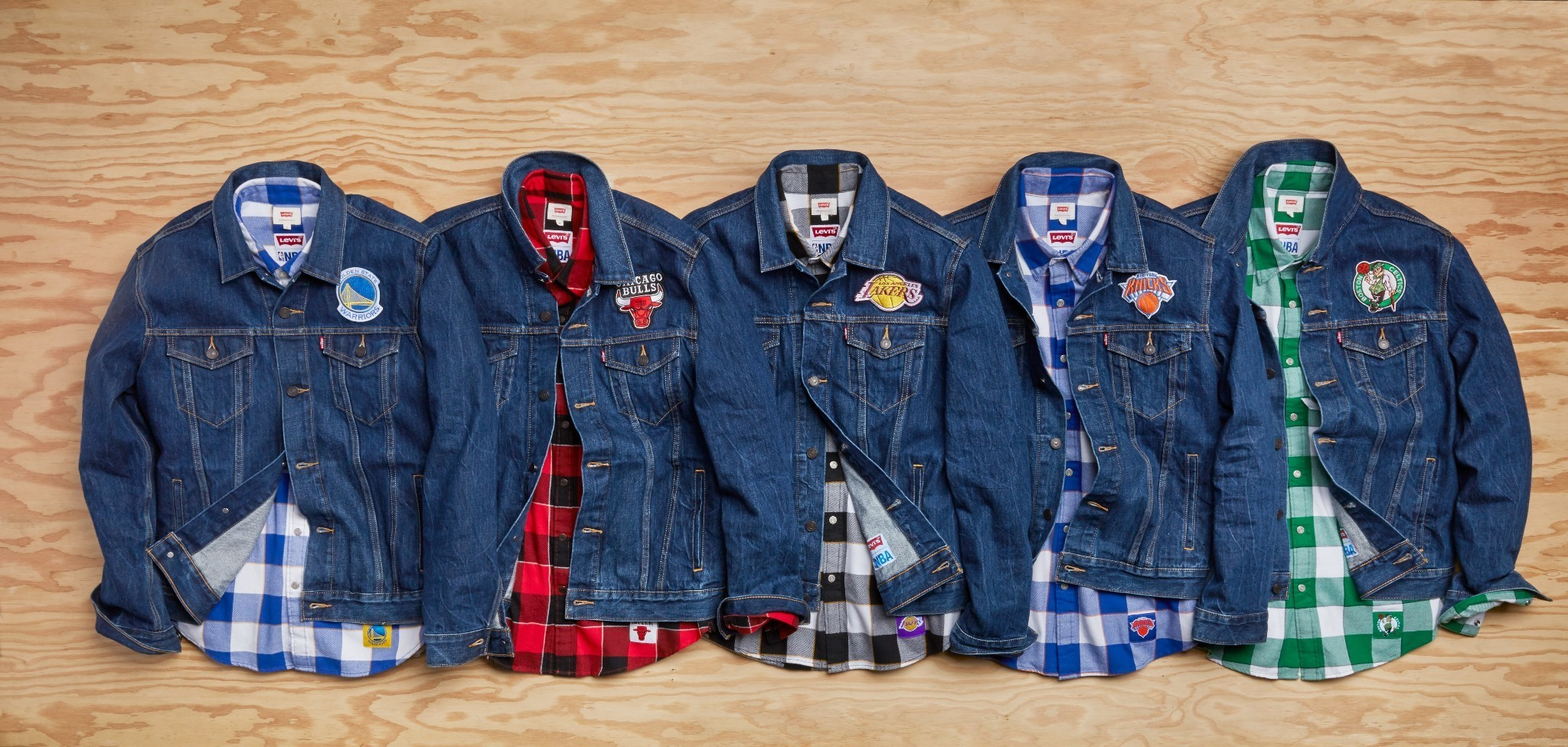 Levi's and the NBA Collaborated on Merch You'll Actually Want to Wear