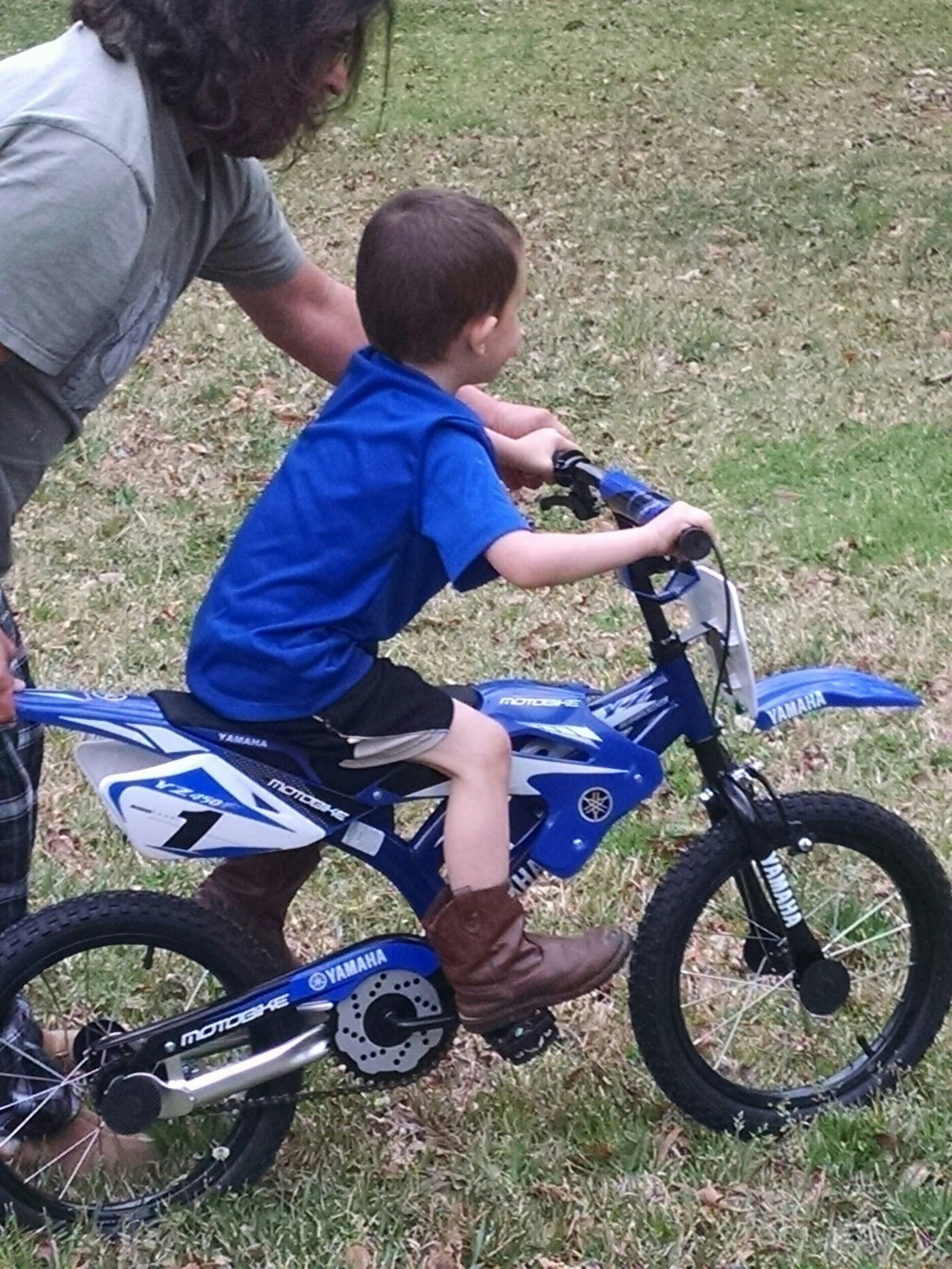 Learning to ride w/o training wheels...