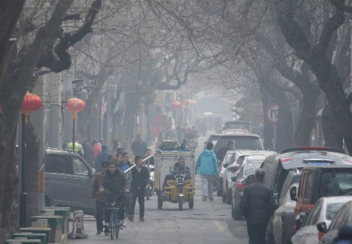 China's nationwide pollution readings rise 5 percent in January-February