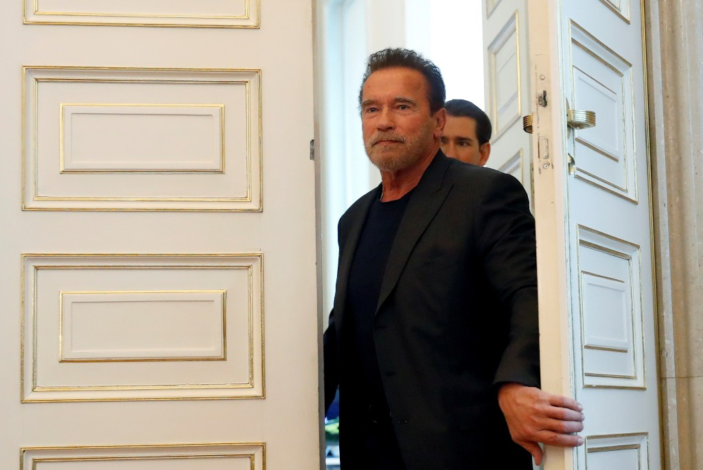 Arnold Schwarzenegger says feeling 'fantastic' after heart surgery