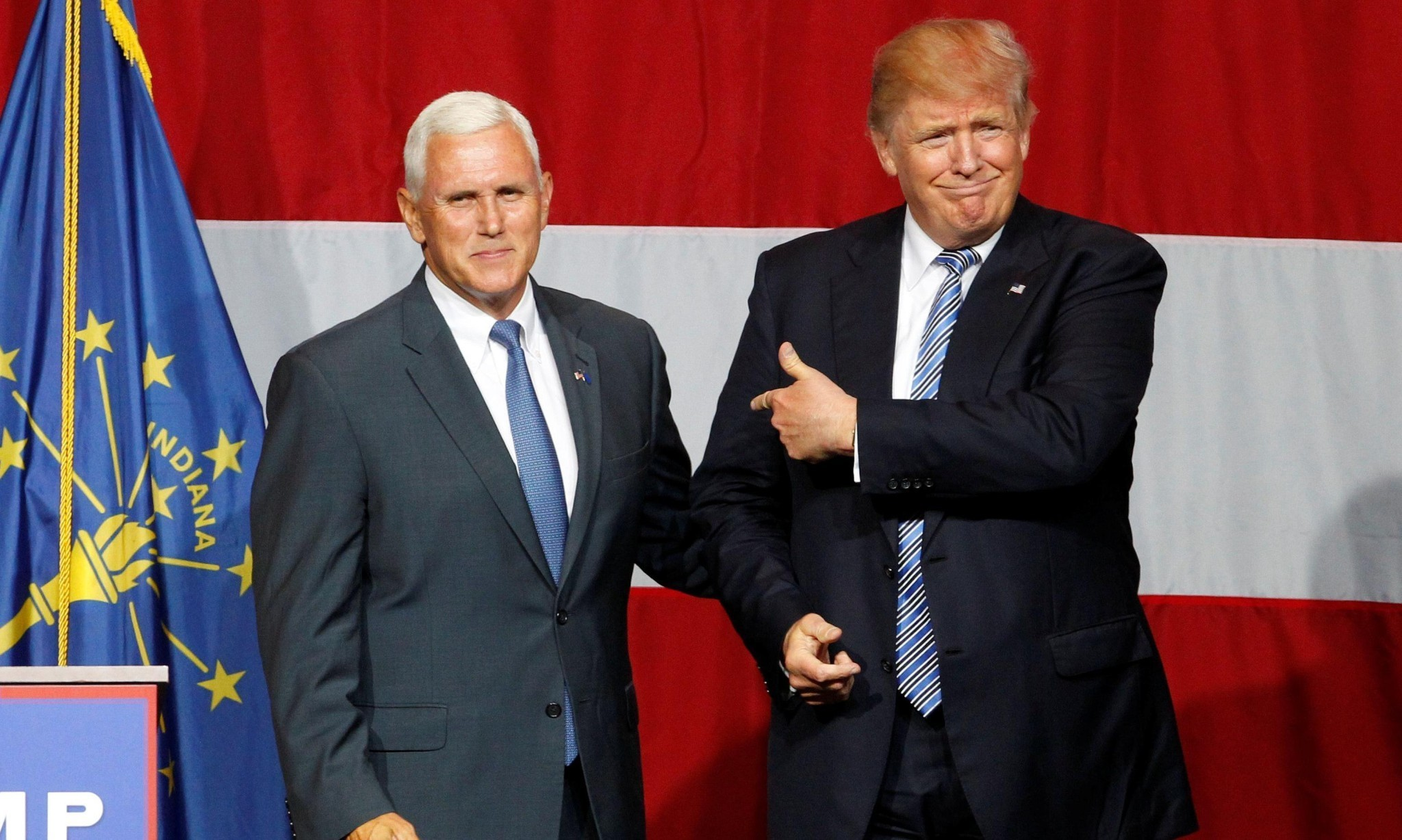 Donald Trump to announce Mike Pence as vice-presidential running mate