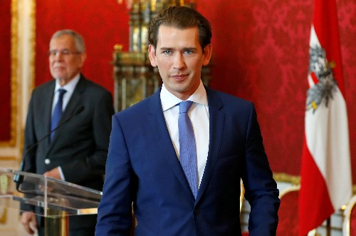 Austria's Kurz fights to stay on after ditching far right
