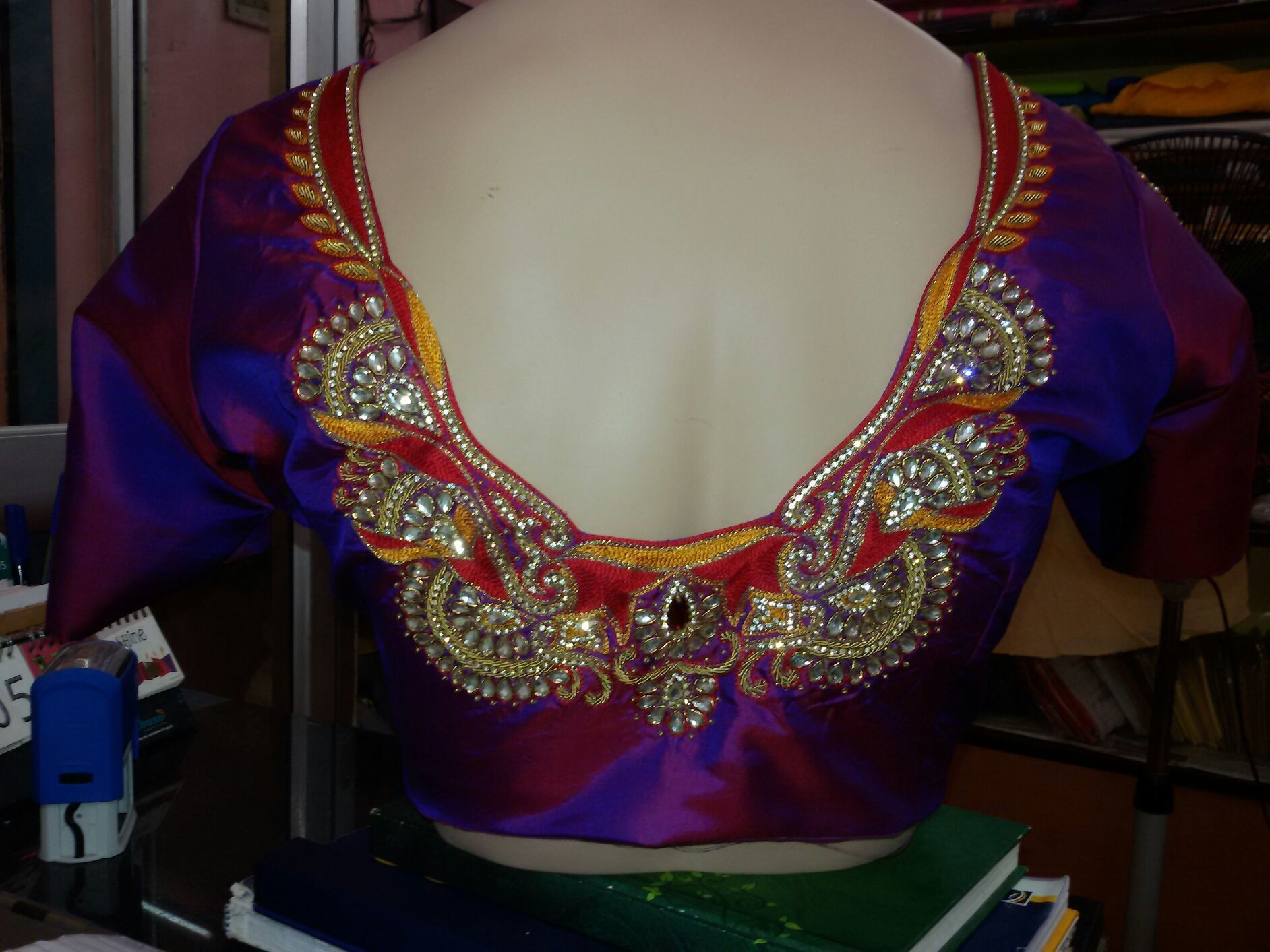 Blouse Embroidery Back