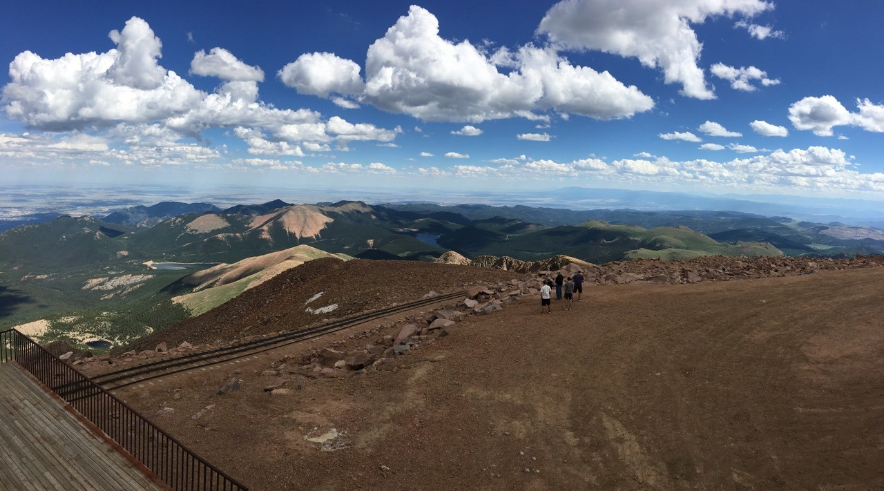 Pikes peak. Yes we had the donuts...