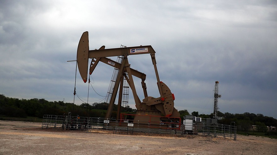 Oil prices march past $50 amid signs of U.S. inventory falls