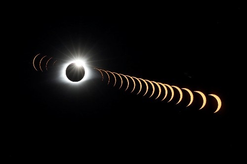 Stunning Images of the Solar Eclipse
