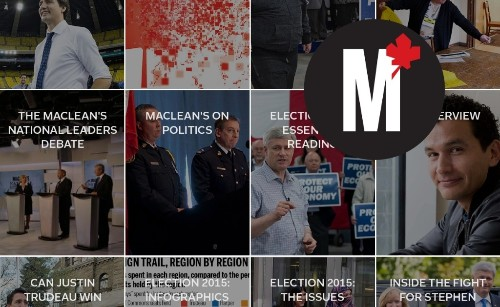Publisher Spotlight: Election Primers & Longform from Maclean's Magazine