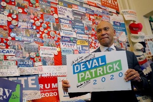 Deval Patrick at odds with some U.S. Democratic hopefuls over big money in politics