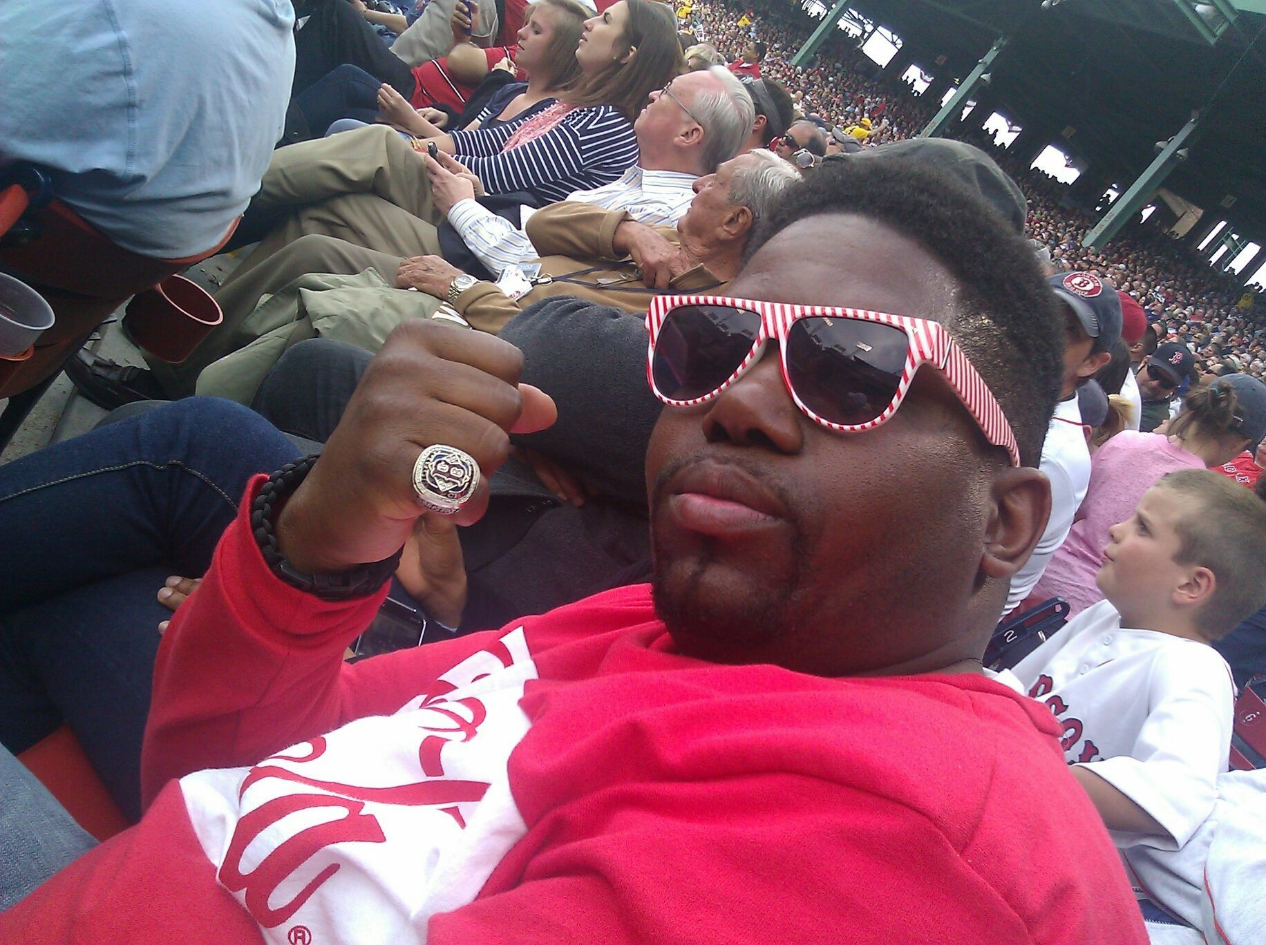 I rep Boston to the fullest!