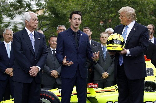 Indy 500 winner Simon Pagenaud relishes White House visit
