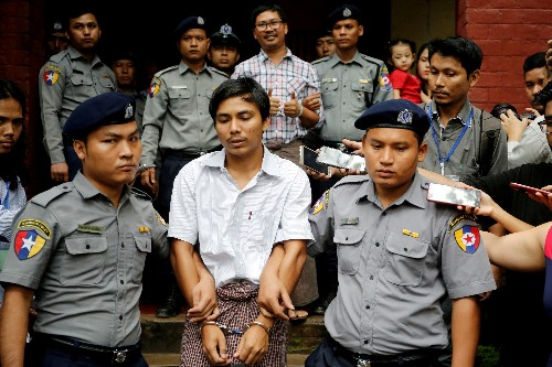 U.S. criticizes Myanmar court decision on Reuters journalists