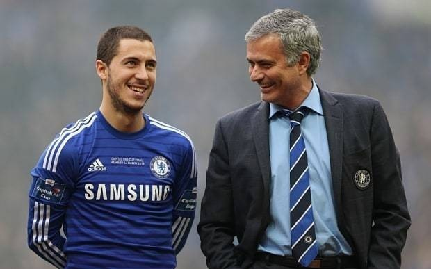 Eden Hazard texted Jose Mourinho to say sorry after Chelsea sacked him