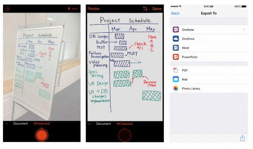 Microsoft Debuts Office Lens, A Document-Scanning App For iOS And Android