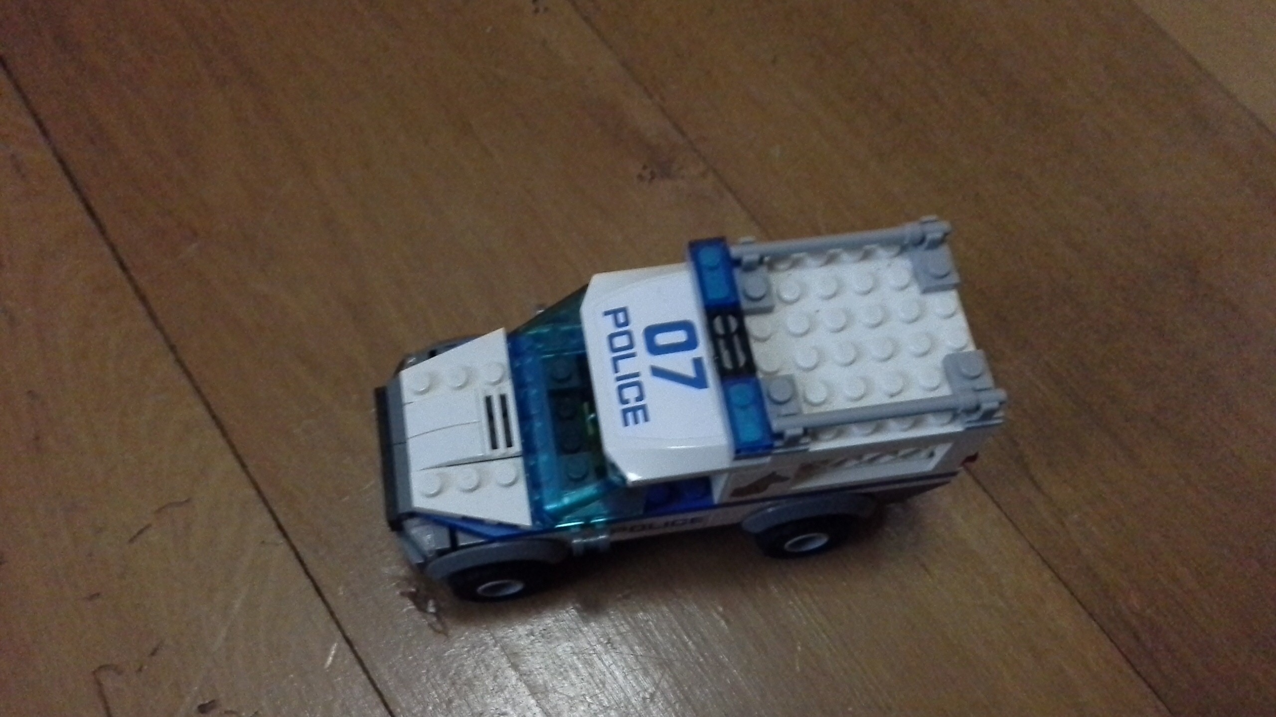 police cars are the best way to get prisoners to jale