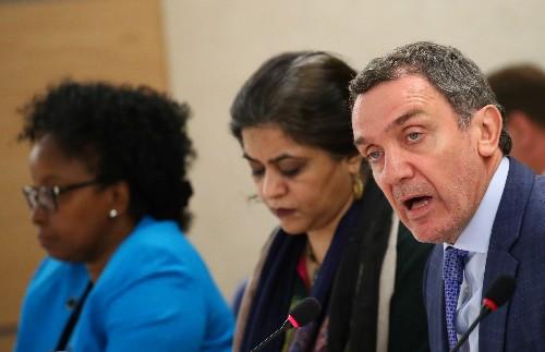 U.N. experts urge Israel to rein in security forces