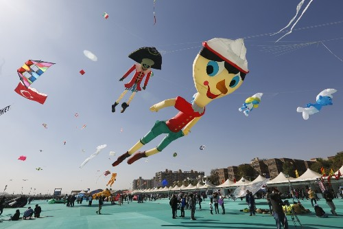 Kite Flying Festival in Pictures