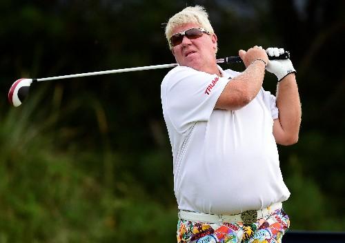 Golf: Daly rides cart to 71 at Barbasol, Poston leads