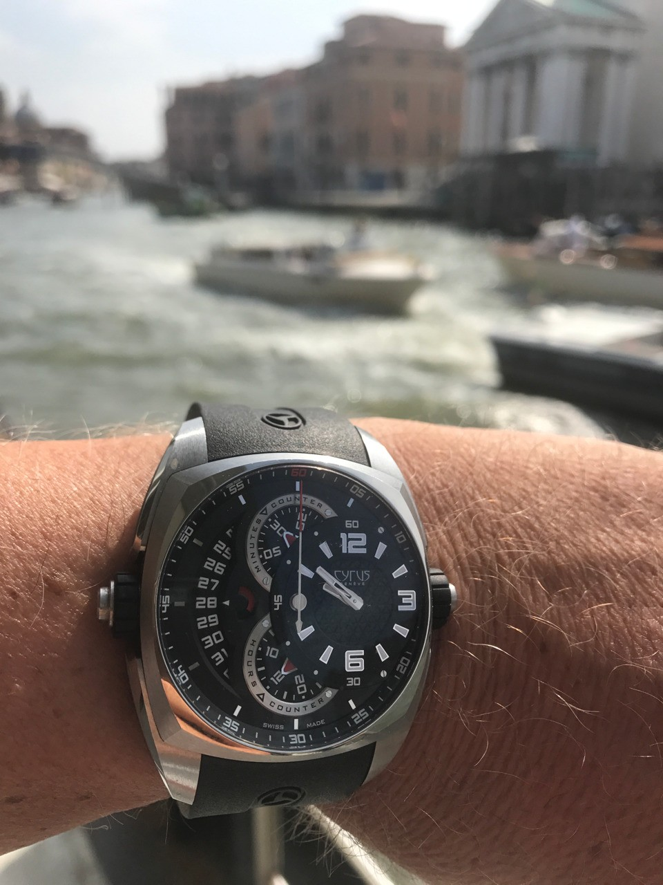 Cyrus Watches Klepcys Chronographe to Venice