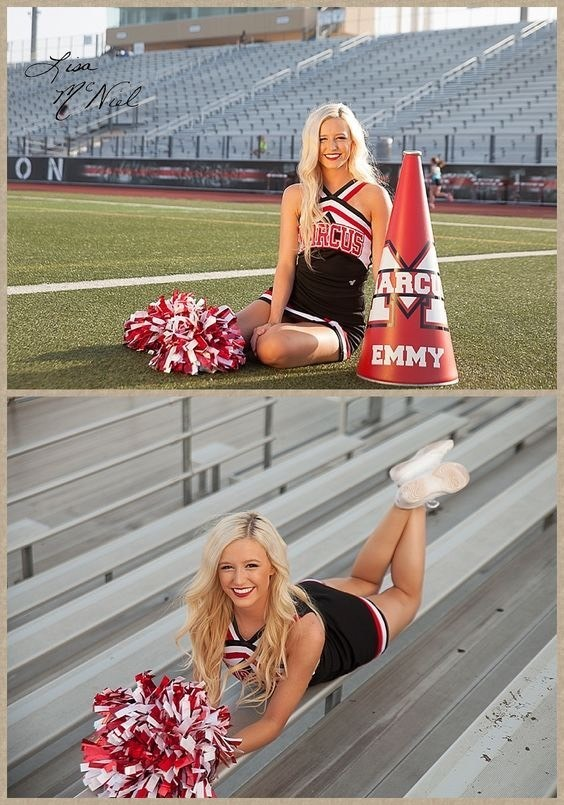 CHEER BOWS & NIKE PRO'S - Magazine cover