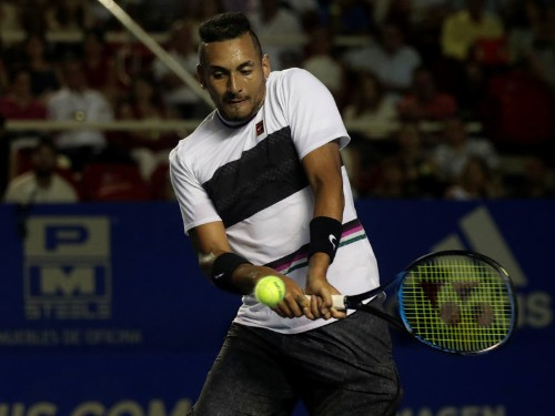Tennis: The Kyrgios one-man circus rolls into Paris