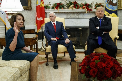 Trump threatens shutdown in wild encounter with Democrats