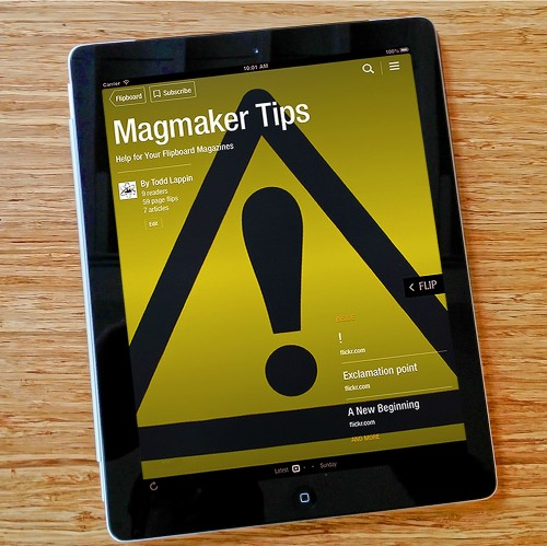Five Things You Absolutely, Positively Need to Know About Your Flipboard Magazines