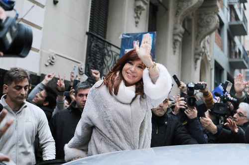 Where's Cristina? Argentina's fiery ex-president stands back as left scents victory