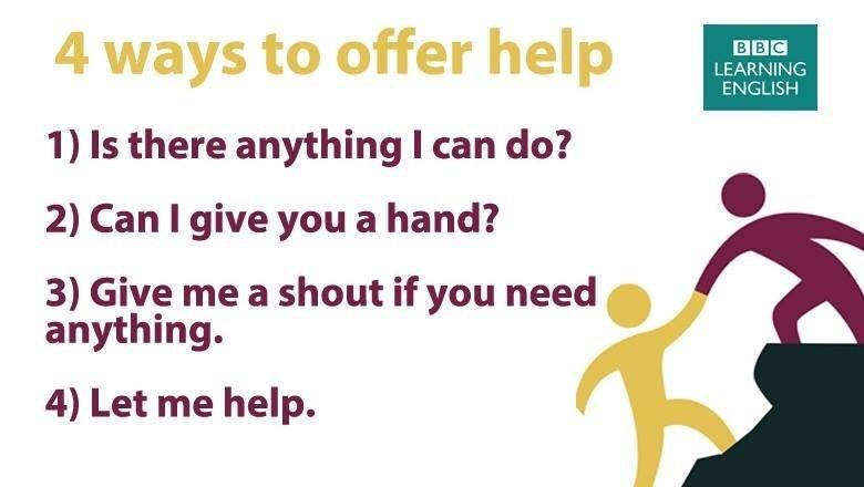 4 ways to offer help.