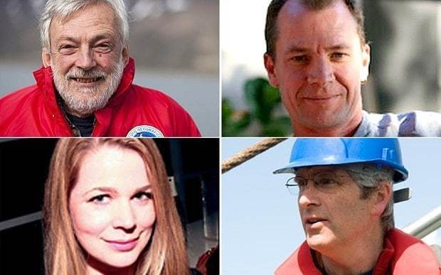 Three scientists investigating melting Arctic ice may have been assassinated, professor claims