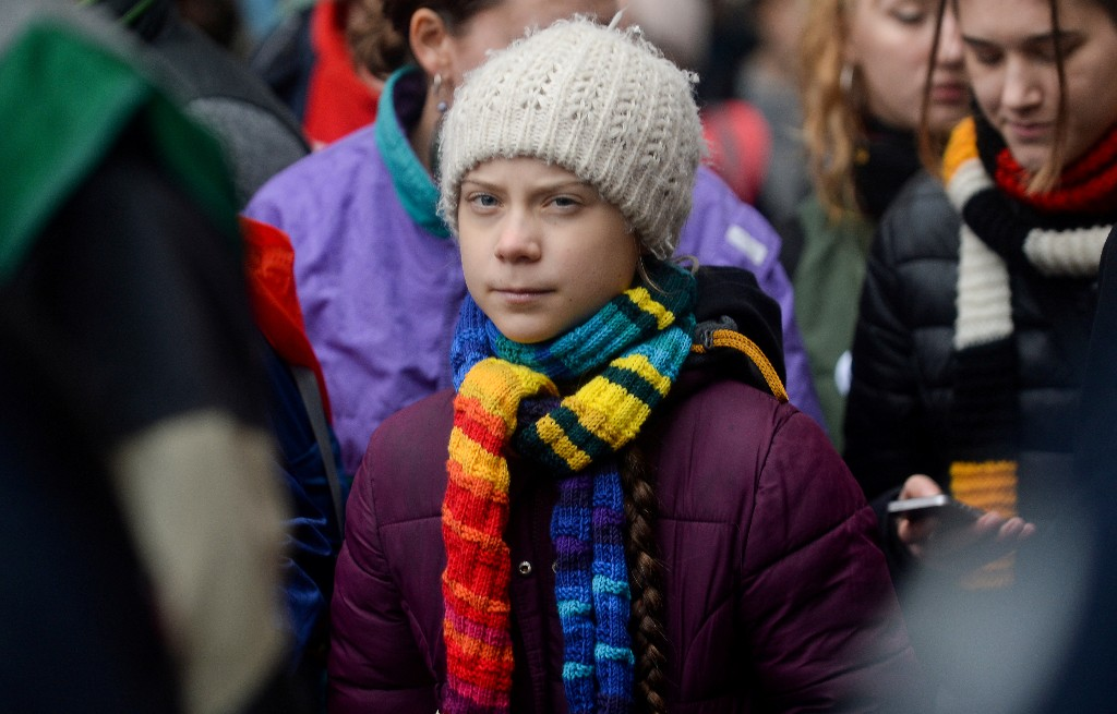 'We need to stand united,' climate activist Thunberg tells U.S. protesters