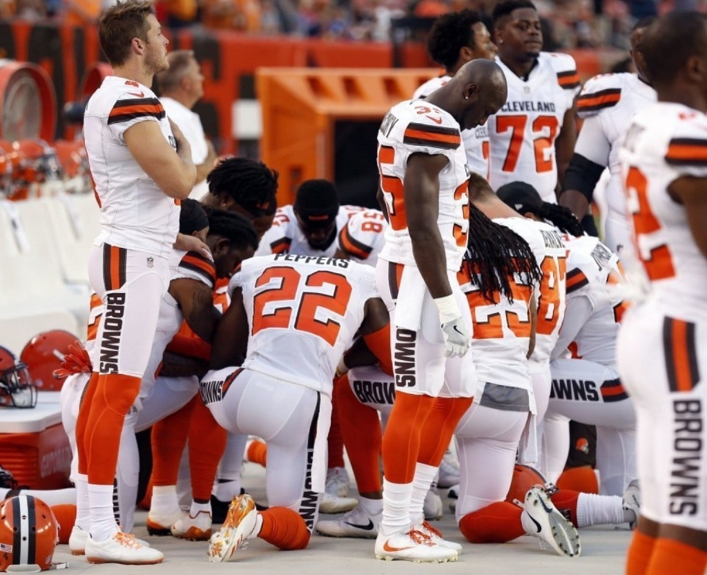 The NFL player protests, broken down by team and week
