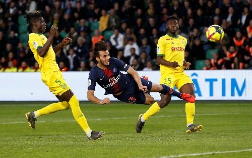 Soccer: PSG again made to wait to clinch title with Nantes defeat