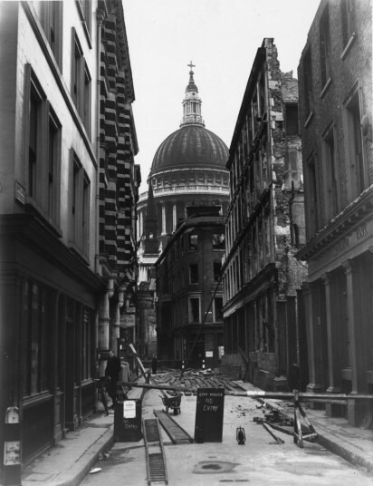 Churchill's London then and now: How London was rebuilt after WWII