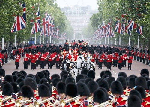 The Queen's Birthday Celebrated in Pictures