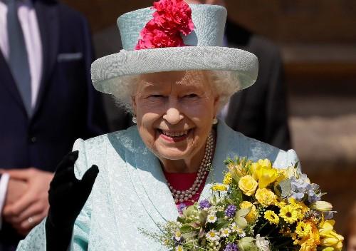 Britain's Queen Elizabeth celebrates 93rd birthday at Easter service
