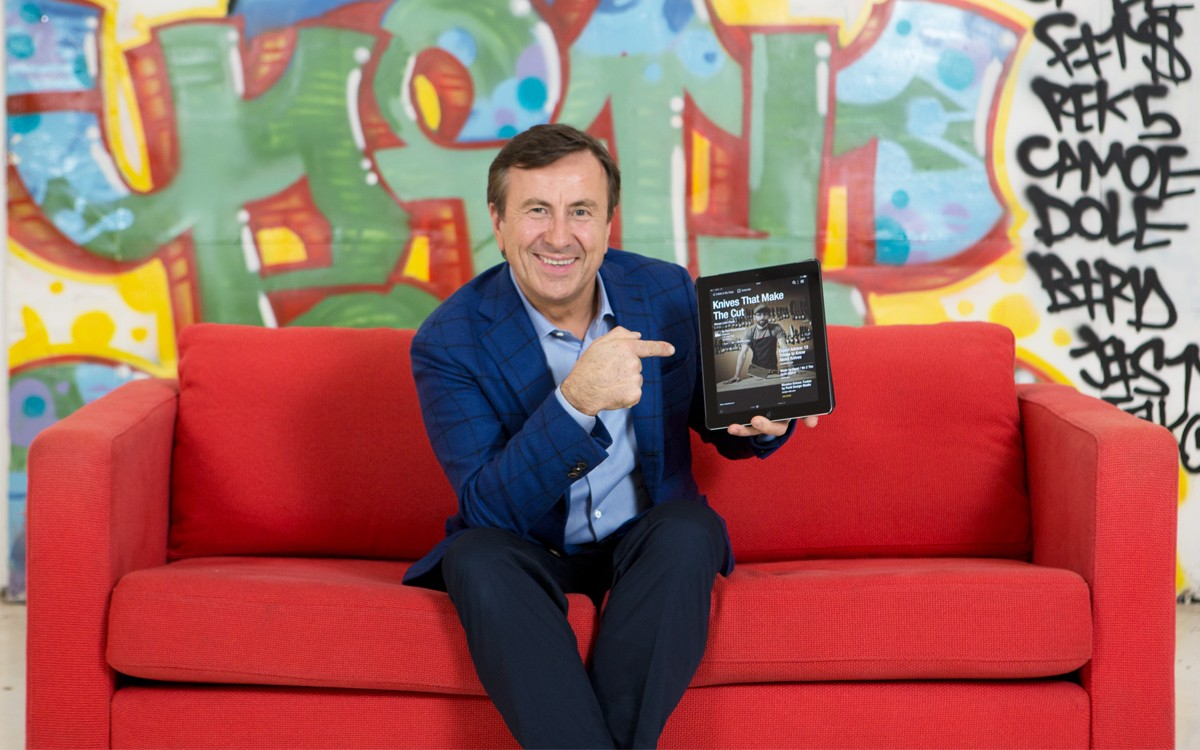 On the Red Couch with Chef Daniel Boulud