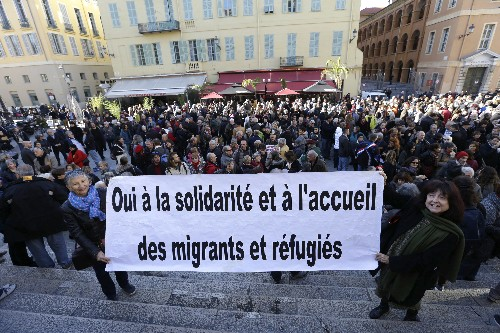 French courts face touchy test: Is helping migrants a crime?