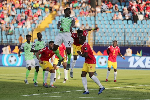 Nigeria beat Guinea to book place in next round of Cup of Nations
