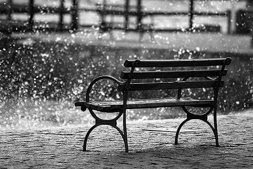 Lluvia en Valparaiso