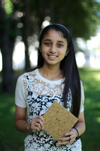 At The Age of 15 She Invented Building Material From Indian Rice Waste