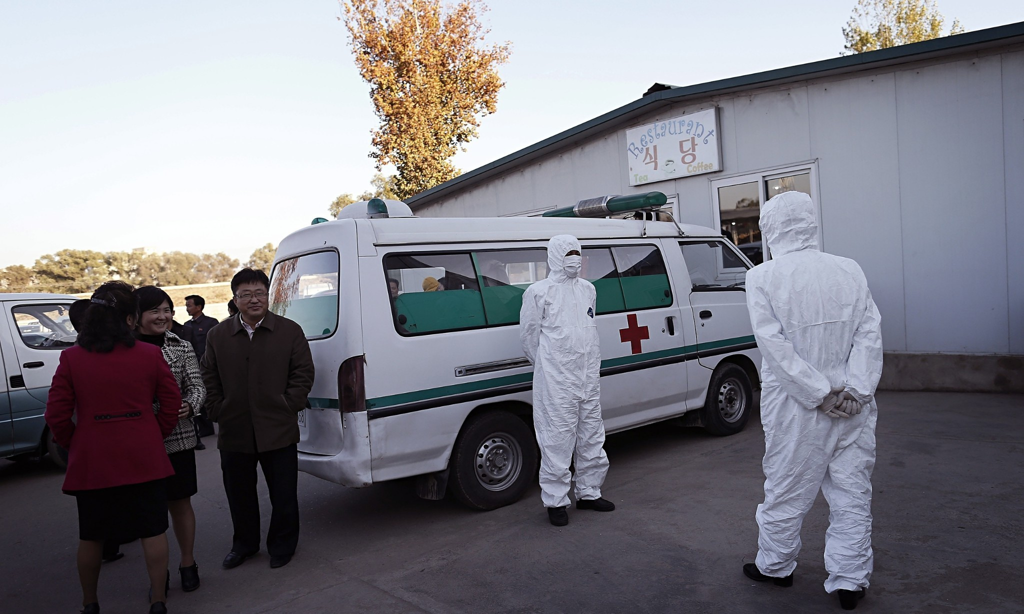 In North Korea, fear takes hold over new foreign threat: Ebola