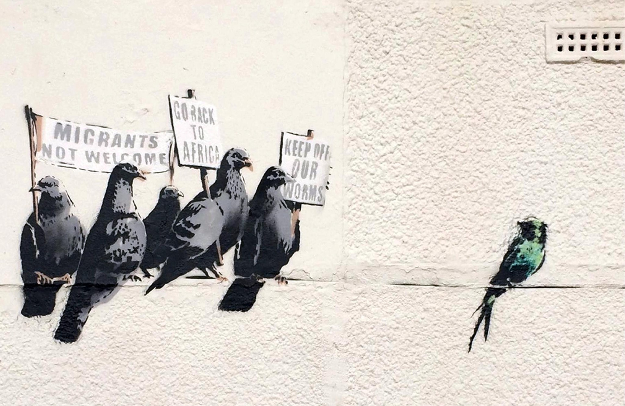 Melbourne Bansky exhibition a 'major coup' for city, says mayor