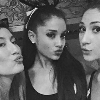 Ariana with 2 friends