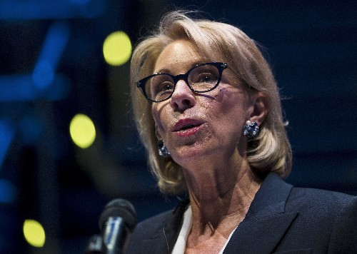 Dems say DeVos' deputy tried to influence internal inquiry