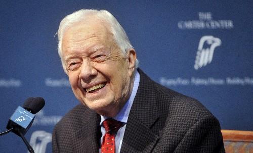 Former U.S. President Carter hospitalized in Atlanta for bleeding on the brain