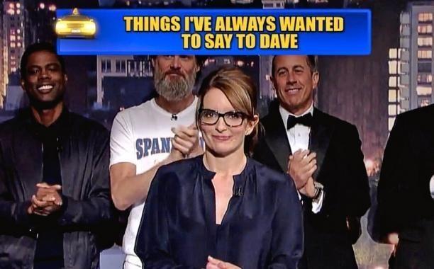 David Letterman's final Top Ten List was a star-studded affair