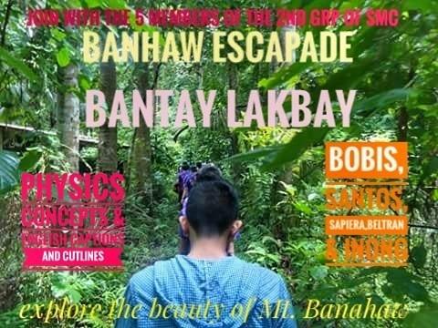 Banahaw Escapade - Magazine cover