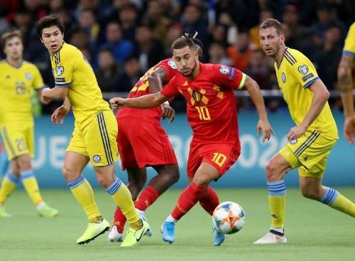La Belgique s'impose au Kazakhstan