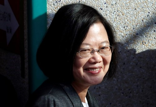 Taiwan president complains to Pope Francis about Chinese pressure